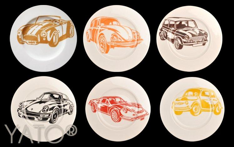 Collection Cars Assiette Ø19cm
