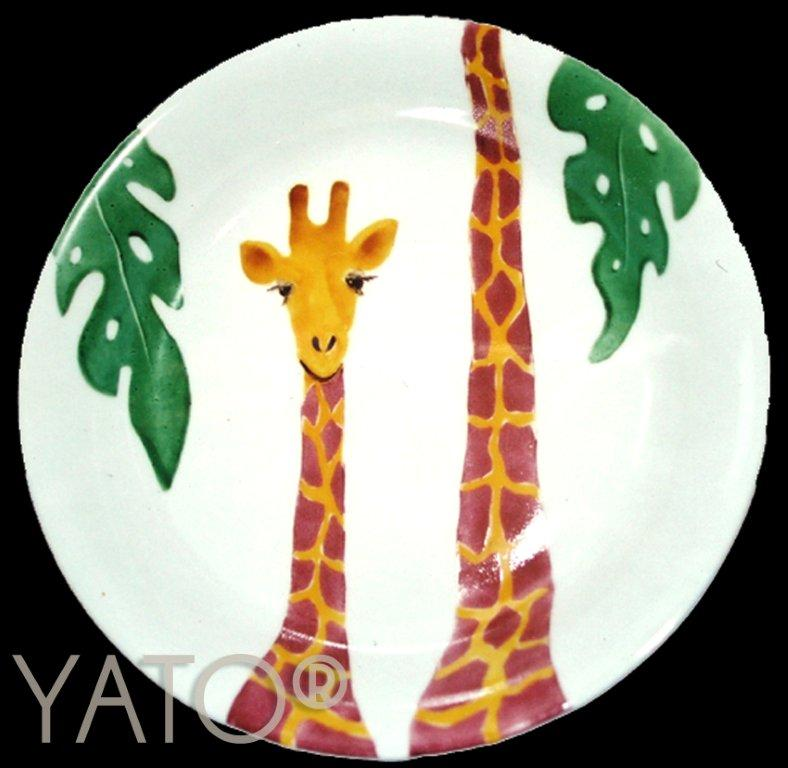 Collection Zoo Girafe Assiette