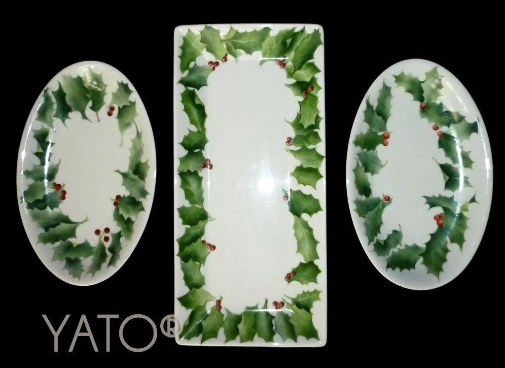 White – Christmas Holly