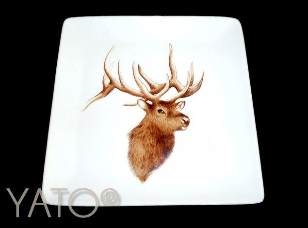 Collection Chasse Plat 18,5cm
