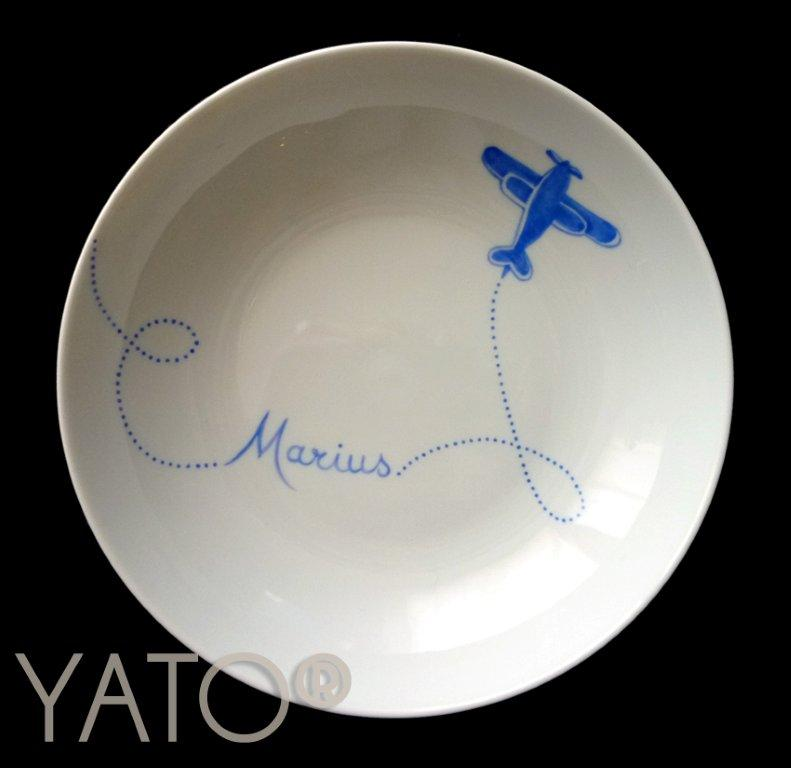Collection Airplane Assiette boule