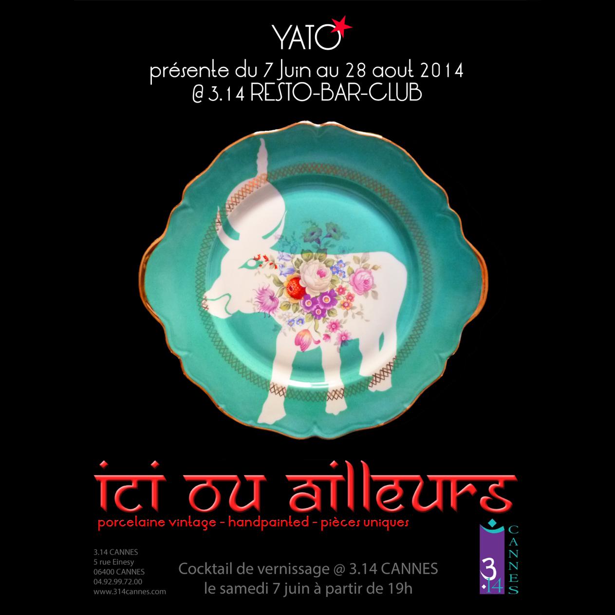 Invitation-YATO@hotel 3.14 Cannes