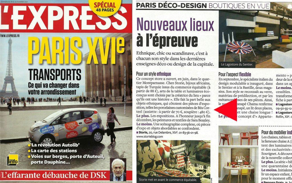 L'EXPRESS - Décembre 2014