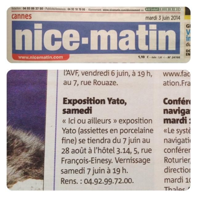 NICE-MATIN - Juin 2014