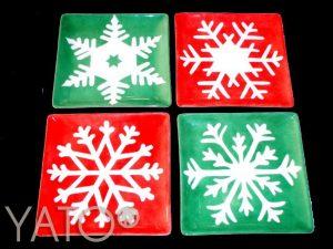 White – Snowflakes