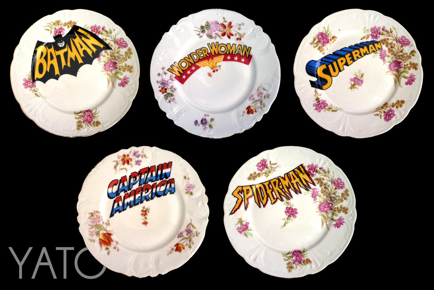 vintage superhéros