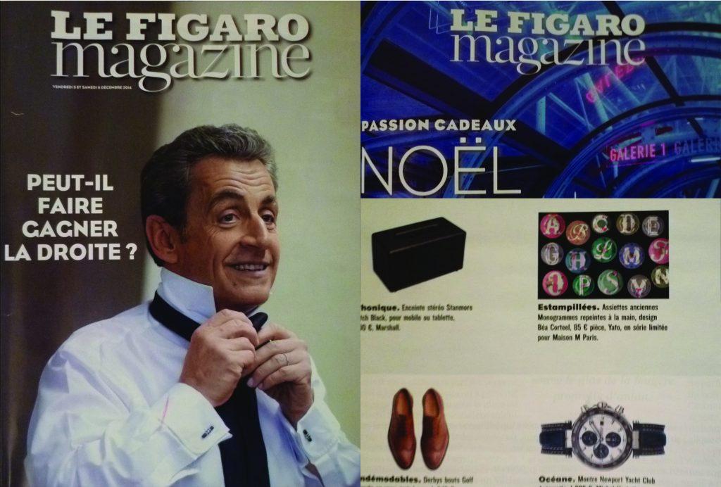 FIGARO MAGAZINE - Décembre 2014