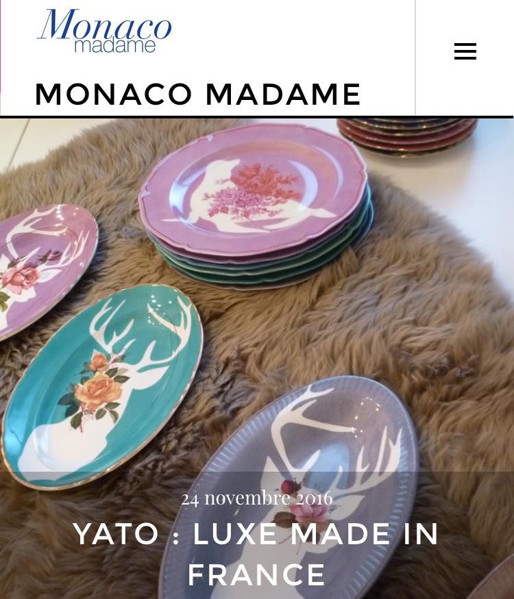 MONACO MADAME - Novembre 2016
