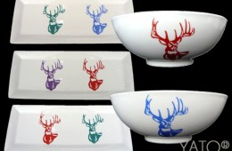 Collection YATO&rsquo;s white CERF POP ART